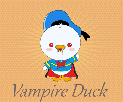 Vampire Duck by mikode