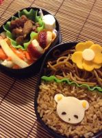Teddy Bento by Scarletts-Fever