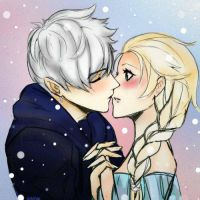 Jack and Elsa by Luntye