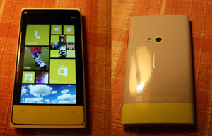Front and back of my ''Nokia Lumia 8S'' by ProjektGoteborg