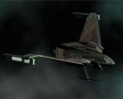 Romulan Winged Defender by intrepid1708