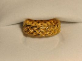 Celtic Knot Braided Ring by dfoley75