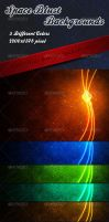 Space Blust Background by sktdesigns