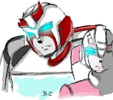 Arcee-Ratcet TFA ? by BloodyChaser