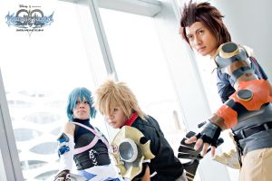 Cosplaymania 2012 Kingdom Hearts Birth by Sleep 02 by portpolyonamo1979