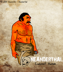 Neanderthal - Vector by sheriksillo