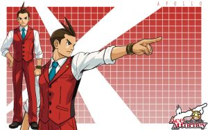 Gifted Rookie - Apollo Justice by kurama805
