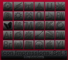 Icon Impressions Set 1 by 0dd0ne