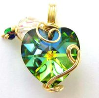 Love at the Disco Pendant by sojourncuriosities