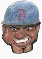 David Ortiz Caricature by TRALLT