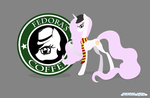 Fedora's Coffee -Celestia Radio Wallpaper by AI-battle-programer