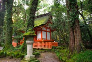 Shrines : Temple Building 05 by taeliac-stock