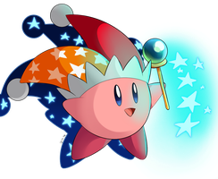 Beam Kirby! by Lucky-Sonic-77-d