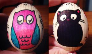 Easter eggs by ItSurroundsMe