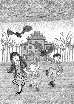 Escape from the Wicked House by ericbdg