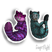 PC: Cheshire cats by GingerFlight