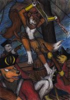 Attack of the Fox Pirate by Kiljunator