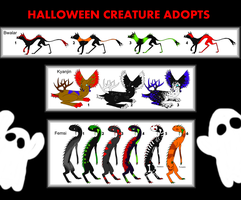 Halloween Creature Adopts OPEN by careas