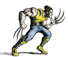 Wolverine Color by MarkHartman