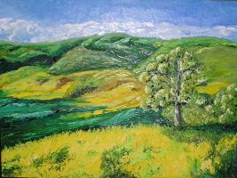 California Foothills by ArtByCharlieAsher
