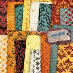 summer sunrise papers by paperstreetdesigns