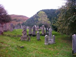 Highland Graveyard 2 by Amizaras