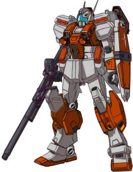 RGM-86RV GM III Semi-Seeker Test colors all weapon by RedZaku