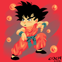 Little Goku by stinson627