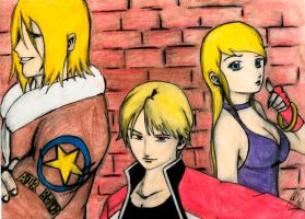 fatal fury team by taurence