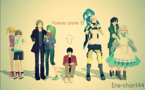 Forever Alone :'D by Ene-chan144