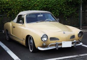 Volkswagen Karmann Ghia Convertible by sudro