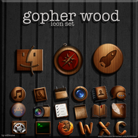 Gopher Wood Icons by cddoulos