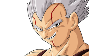 Baby Vegeta 1st form by drozdoo