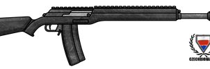 Fictional Firearm: HC-307 Battle Rifle by CzechBiohazard