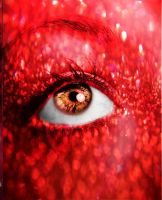Fire: Shaunee's Eye by XmadlyinloveX