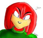 ---Knux--- by TopHatHedgie