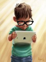 apple-ipad-paintings-fingers by el-abda3-com
