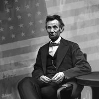 Abe Lincoln - sitting by thatsmymop