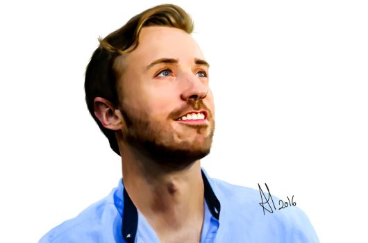 Peter Hollens by TheSeryne