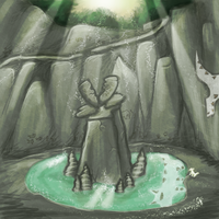 Wolf cave - contest entry by Kartz