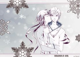 Love under the snowflakes by Mabalor