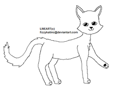 PAINT FRENDLY .: FREE CAT LINEART by Who-Butt