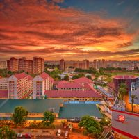 Hougang New Town by Draken413o