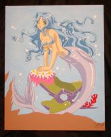 Anime Mermaid by Candrence