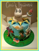 Moomin Celebration by gertygetsgangster