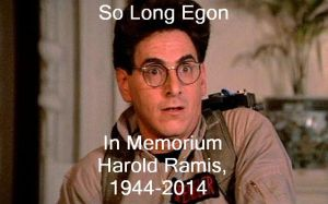 Egon bye you will be missed by Jeffyraccoon