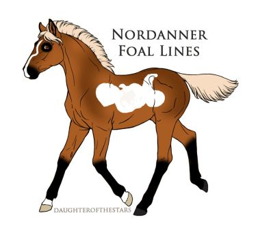 A4999 foal design by Seri-goyle