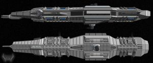 ROG Cruiser WIP 1A by Mallacore