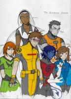 My X-men team would be... by darthmongoose