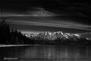 Lake Tahoe Infared by kayaksailor